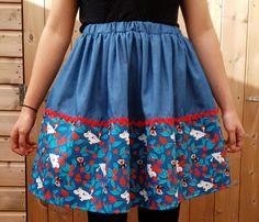 moomin skirt on etsy