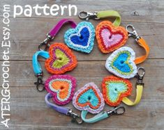 Etsy の Crochet pdf pattern CIRCLE by ATERGcrochet by ATERGcrochet