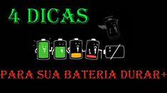 INCRÍVEL!!!! 4 DICAS PARA FAZER A BATERIA DURAR MAIS!!!!