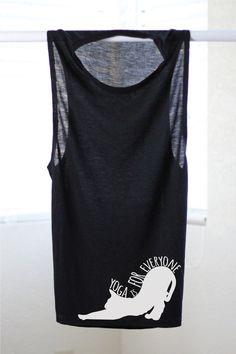 Yoga Is For Everyone  Yoga Shirt  Flowy tank  Yoga от ArimaDesigns