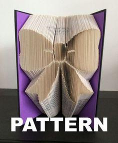 Book Folding Pattern - Bow +