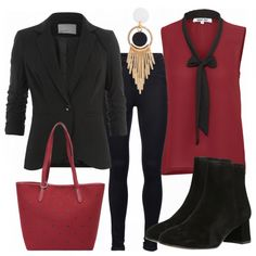 Business Outfits: BlackandRed bei FrauenOutfits.de