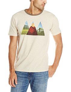 prAna Mens Summit Shirt, Stone, Large