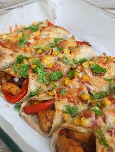 lindastuhaug | Spicy enchiladas - lindastuhaug