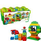 Buy LEGO Duplo Creative Play 10572 All-in-One-Box-of-Fun, Open Ended Toy for Imaginative Play with Large Bricks Made for Toddlers and preschoolers Pieces) Lego Duplo Sets, Lego Duplo Town, Toddler Preschool, Toddler Toys, Kids Toys, Baby Toys, Children's Toys, Toddler Gifts, Preschool Activities