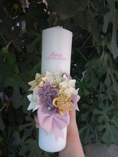 Bath And Body Works Perfume, Palm Sunday, Pillar Candles, Origami, Soap, Easter, Flowers, Handmade, Baptisms