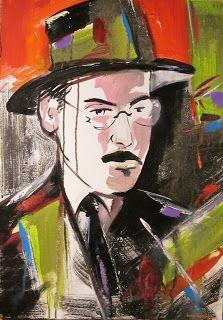 Resultado de imagem para art for fernando pessoa Dale Carnegie, Oscar Wilde, The Artist's Way, Many Faces, Cool Art, People, Watercolor, Bloom, History