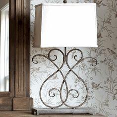 Artisan Metalwork Lamp