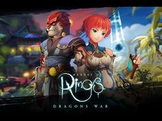 Heroes of Rings: Dragons War android game first look gameplay español