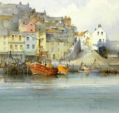 David Howell (b. 1939),England | City and country scenes in Art