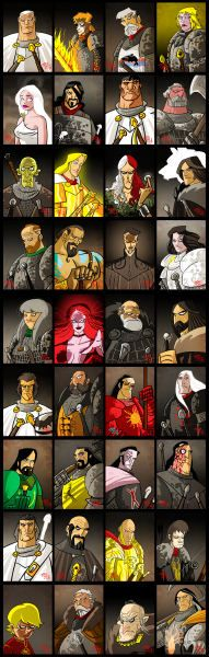 Characters by The Mico