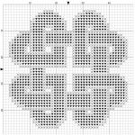 Knotted Hearts Cross Stitch Pattern