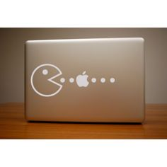 pacman apple decal  <-- So would get this if i had a Mac