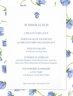 Tory Entertains: Summer Lunch | The Tory Blog