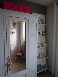Girls room wardrobe makeover idea