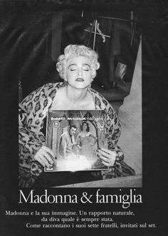 https://flic.kr/p/JCB7ay | Lei Gennaio 1987 Madonna | Madonna shot by Bruce Weber. A little humidity got to the pages of this magazine. Sorry!