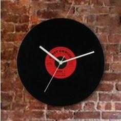 Horloge Murale Disco Vintage - MisterDiscount