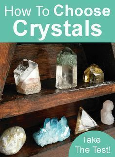 How to Choose a Crystal for crystal healing. Click to read the article. Beginners Guides #crystaltherapy
