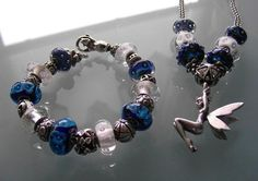 Blue and White #trollbeads
