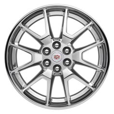 SRX Wheel, 6 Split-Spoke, Chrome, Upgrade your SRX with these Chrome Accessory Wheels. Use only GM-approved wheel and tire combinations. Rims And Tires, Wheels And Tires, Tire Rack, 20 Inch Wheels, Cadillac Srx, Chrome, Cars, Autos, Car