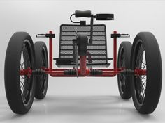 Trail Cat: four wheel fat tire quad bicycle. | Indiegogo