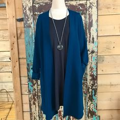 Made in Canada, Bamboo French Terry Long Easy Cardigan, Fashion & Jewellery – The Passionate Home, Langley BC Terry Long, Cardigan Fashion, Fashion Jewellery, French Terry, Life Is Beautiful, Bamboo, Kimono Top, Canada, Turquoise
