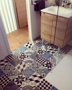 Boho, Spanish, Moroccan - whatever you happen to call them, there's no denying the visual impact these tiles have.