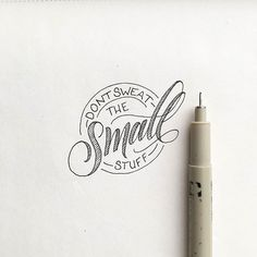 Incredibly good advice. Type by Bre McCallum | #typegang - typegang.com