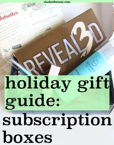 Subscription boxes a