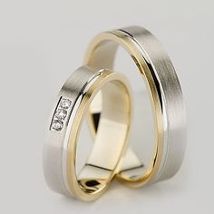 Matching Promise Rings, Matching Wedding Bands, Wedding Rings, Wedding Stuff, Gold Jewellery Design, Gold Jewelry, Gold Rings, Rings For Men, Engagement Rings