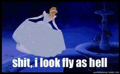 Ha! Oh Cinderella..
