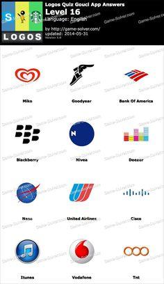 Logos Quiz Gouci App Level 16