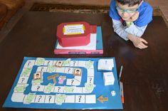 educacion emocional y cuentos, juego DIY laberinto emociones