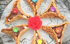 Pizzelle Nutella Hamantaschen