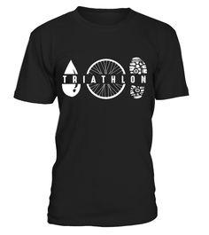 Triathlon Symbole - T-Shirt
