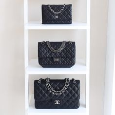 Chanel WOC, 2.55 Reissue, and jumbo classic flap