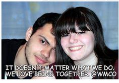 WE LOVE BEING TOGETHER.IT DOESN'T MATTER WHAT WE DO.   #BrideRide #Engaged #EngagedLife #Marriage #engagedcouples #RelationshipTips #Love #BrideRide #WeddingPlanner #EventPlanning #relaxedweddingday #weddingtodos  #RelationshipAdvice