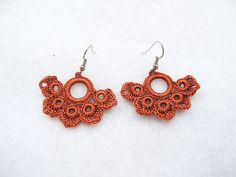 PDF Tutorial Crochet Pattern...Beautiful Dangle Earrings 1