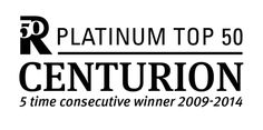 The Boehm Team is proud to be a member of the Platinum Top 50 Centurion Group.  The Boehm Team has won the PT50 Award for Top Realtor or Real Estate Team since 2007.