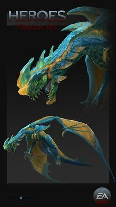 Concepts done for Heroes of Dragon Age mobile game. Alien Concept Art, Creature Concept Art, Fantasy Monster, Monster Art, Alien Creatures, Magical Creatures, Creature Feature, Creature Design, Heroes Of Dragon Age