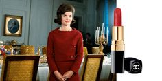 Despite her otherwise minimal makeup, Kennedynever shied away from brightlipstick,andoftenmatchedher poutto the exact shade ofred or pink that she was wearing. Try pairing aclassic red dress withChanel's Rouge Coco Lipstick in 'Gabrielle'to give the trend a try.