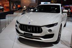 Maserati Rolls Out 2017 Levante and Quattroporte at Brussels Motor Show