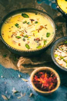 All you need is a pack of almonds, milk, saffron, cardamom powder and sugar. Badam ki Kheer is seriously made that very easily!