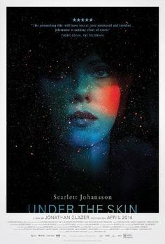 Under The Skin' by Neil Kellerhouse Hollywood in pretty decent movie poster shocker! Poster for Jonathan Glazer's new film starring Scarlett Johansson, 'Under The Skin' by Neil Kellerhouse. Hd Movies, Movies To Watch, Movies Online, Movies And Tv Shows, Movie Tv, Movies 2014, Latest Movies, Scary Movies, Horror Movies