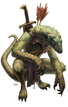 lizardfolk tracker