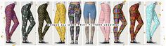 See our collection of 90+ unique leggings with themes ranging from bees to flamingos, nautical, galaxy and fun patterns   https://www.zazzle.com/collections/pretty_all_over_print_leggings_w_unique_patterns-119120667128682709?rf=238713858877306074&TC=pinterest