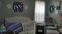 My nursery. Thanks for the ideas, pinterest!