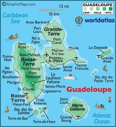 I can't wait for my vacation to Guadeloupe! I've always wanted to go to a Caribbean Island! :D