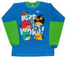 Bluzka Angry Birds - 134 - WIOSNA -POLSKA