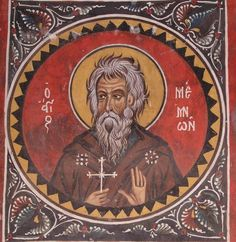 St. Memnon the Wonderworker of Egypt / Прп. Мемнон Чудотворец (Apr 29/May 12)
